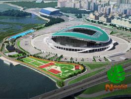 Ландшафтный проект территории центрального стадиона